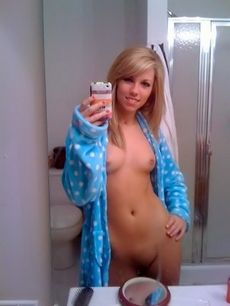 Amazing homemade selfshot picture..