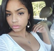 Gorgeous Black Teen Sexy Selfie