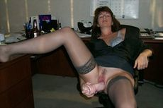 Slutty secretary getting off with..