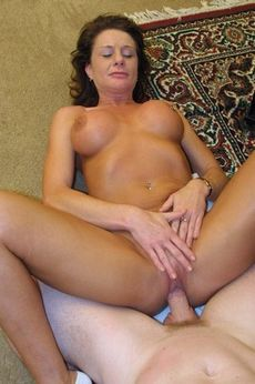 Fucking my mature wife pussy -..