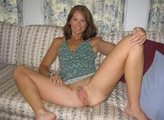 Beautiful wife spreading legs and..